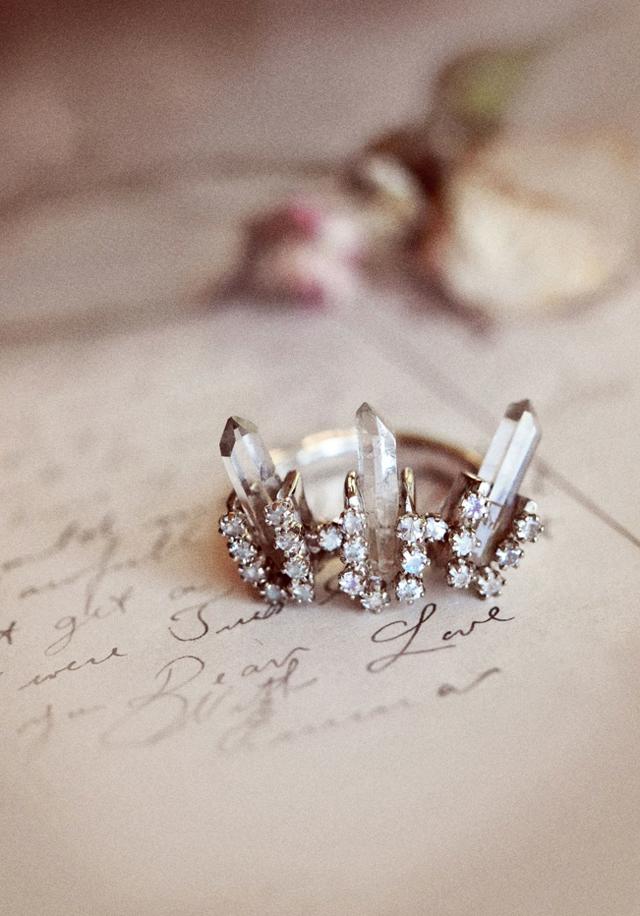 bohemian wedding the ceremonial collection at bona drag - Bohemian Wedding Rings