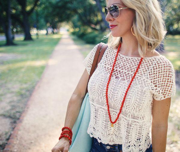 Crochet top (under $20)