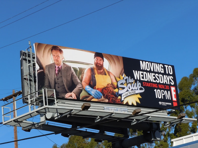 The Soup TV billboard