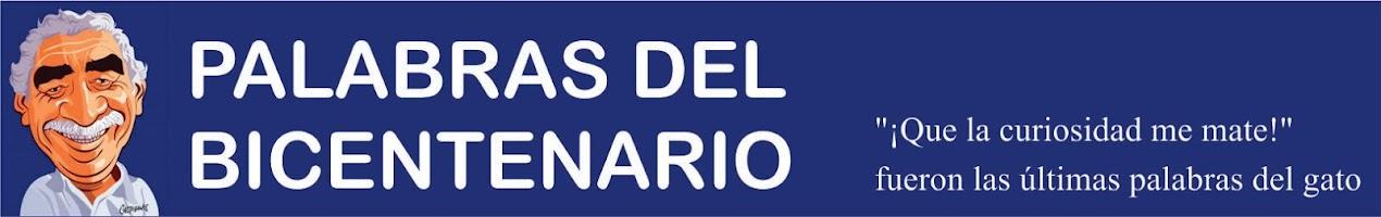 PALABRAS DEL BICENTENARIO