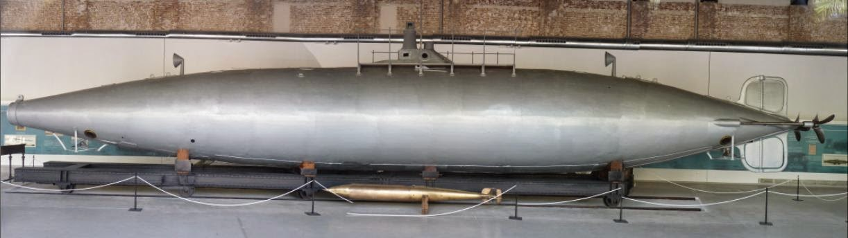 Submarino de Isaac Peral, Cartagena.