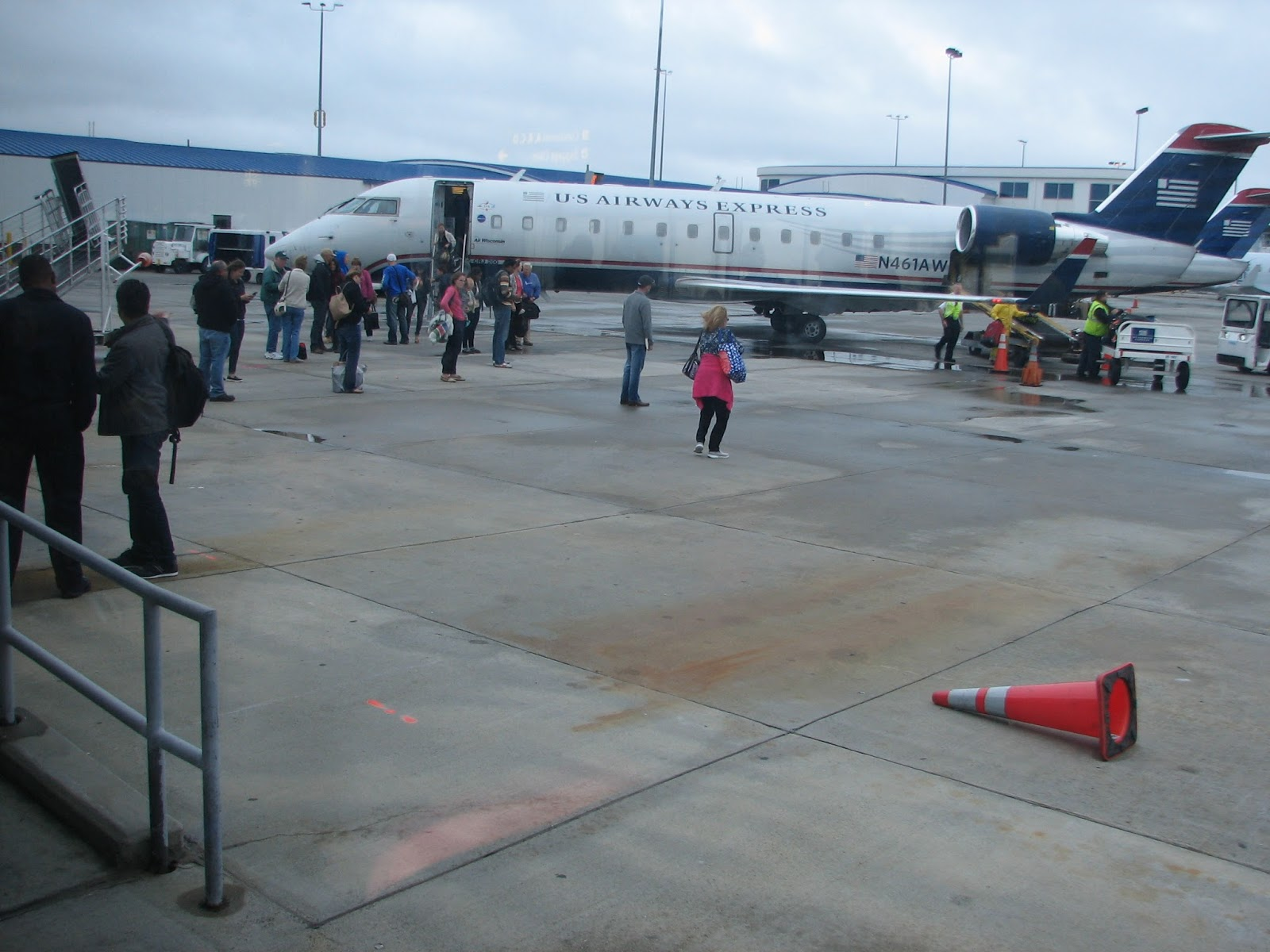 CRJ-200 at Charlotte,