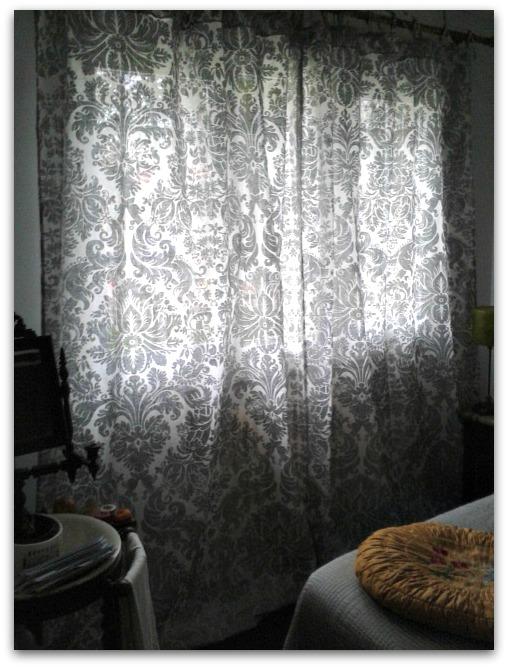 En casa de oly estrenando cortinas vintage - Cortinas de bano zara home ...