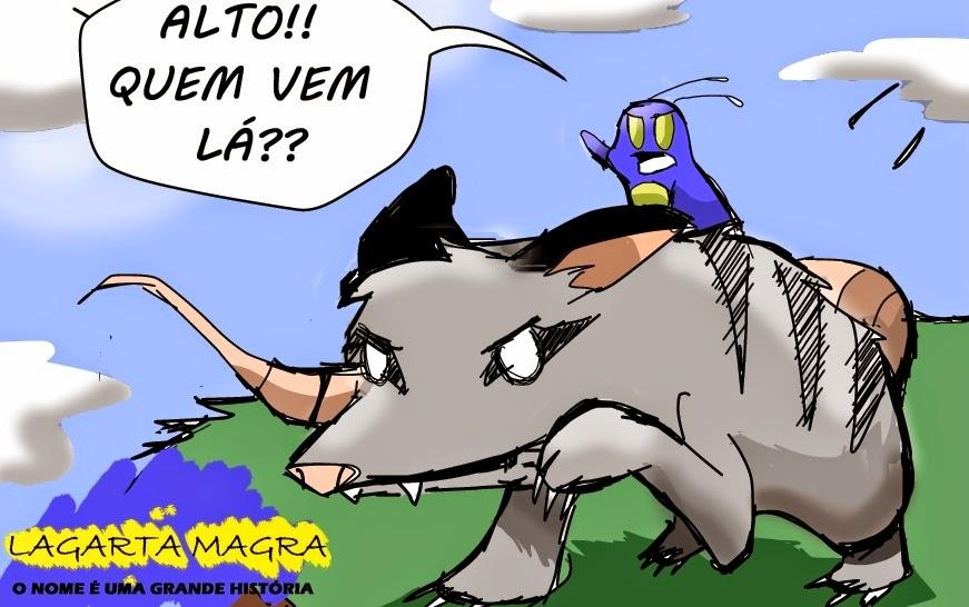 Lagarta Magra