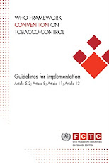 Guidelines for implementation of the WHO FCTC