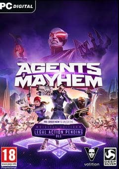 Agents of Mayhem Jogos Torrent Download capa