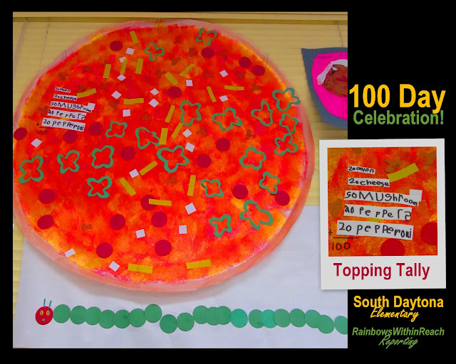photo of: 100 Item Pizza Toppings (100 Day RoundUP via RainbowsWithinReach) 