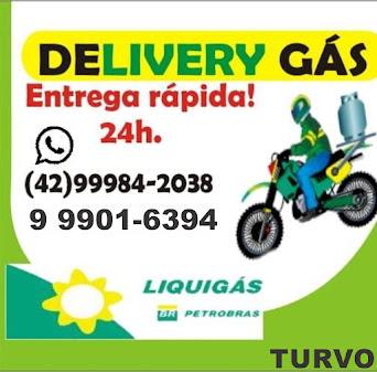 Se o gás acabar, ligue para o Delivery Gás em Turvo