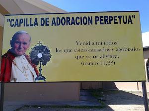 ADOREMOS JUNTOS A JESUS PRESENTE EN LA EUCARISTIA :CAPILLA DE ADORACIÓN PERPETUA!!!