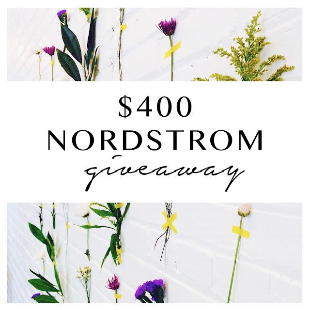 $400 Nordstrom Giveaway