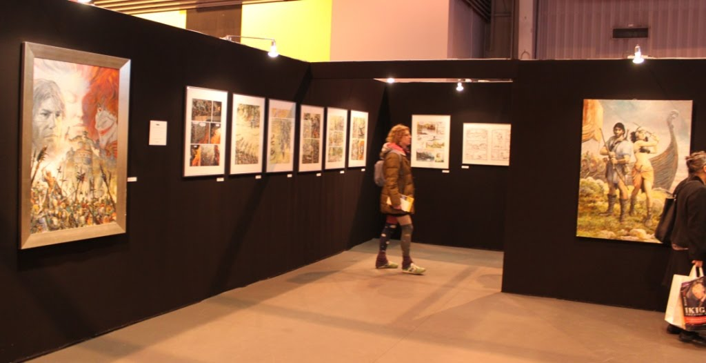 Le blog bd de manuel picaud exposition bd thorgal de for Salon exposition