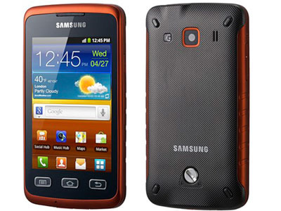 samsung galaxy xcover s5690 water proof