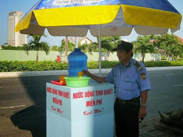 Nước uống miễn phí ở Đà Nẵng