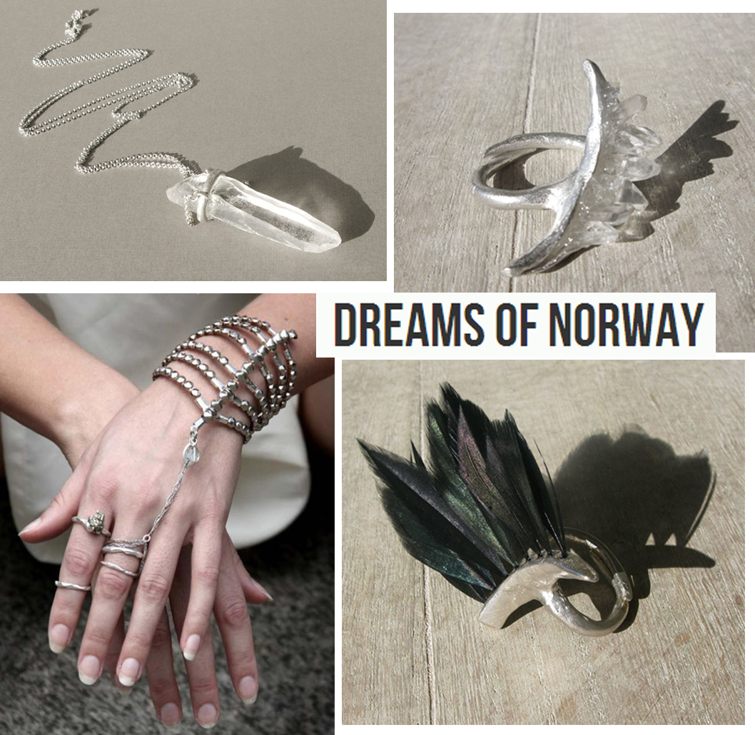 Avant-garde accessories jewellery