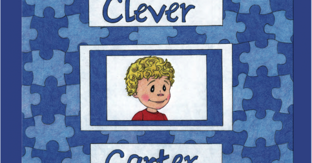 clever carter: a way to introduce your autistic child to his classmates.