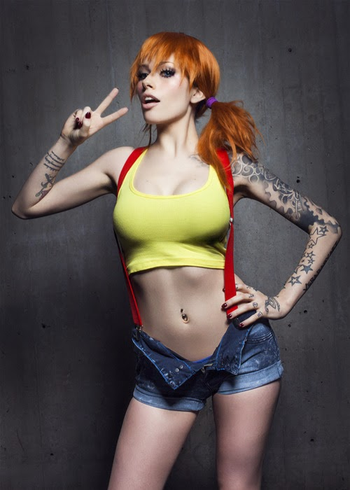 misty cosplay pok mon sexy cosplay fever