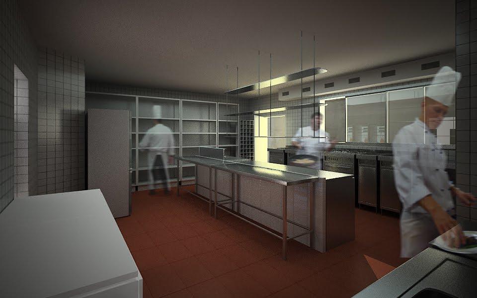 Cgz oficina de arquitectura proyecto de remodelacion de for Proyecto cocina restaurante