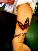 3d Butterfly Tattoos1