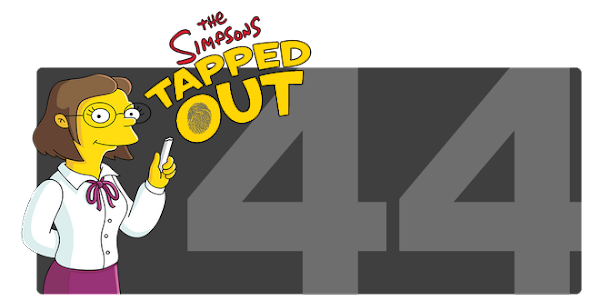 The Simpsons Tapped Out - Level 44 Update
