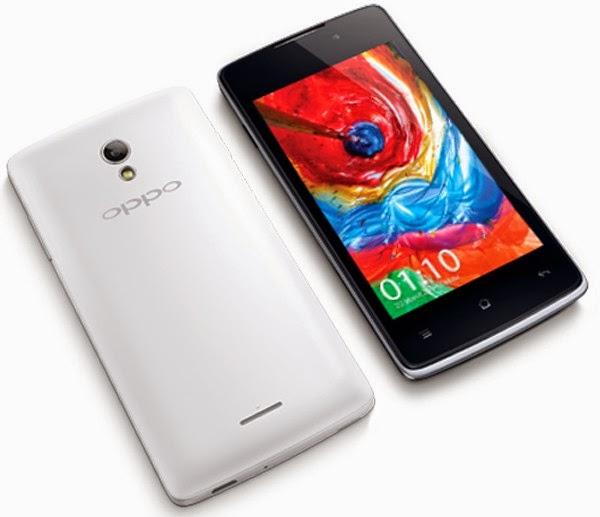 Harga dan Spesifikasi Oppo Joy terbaru 2015 - Smartphone Android 1 jutaan