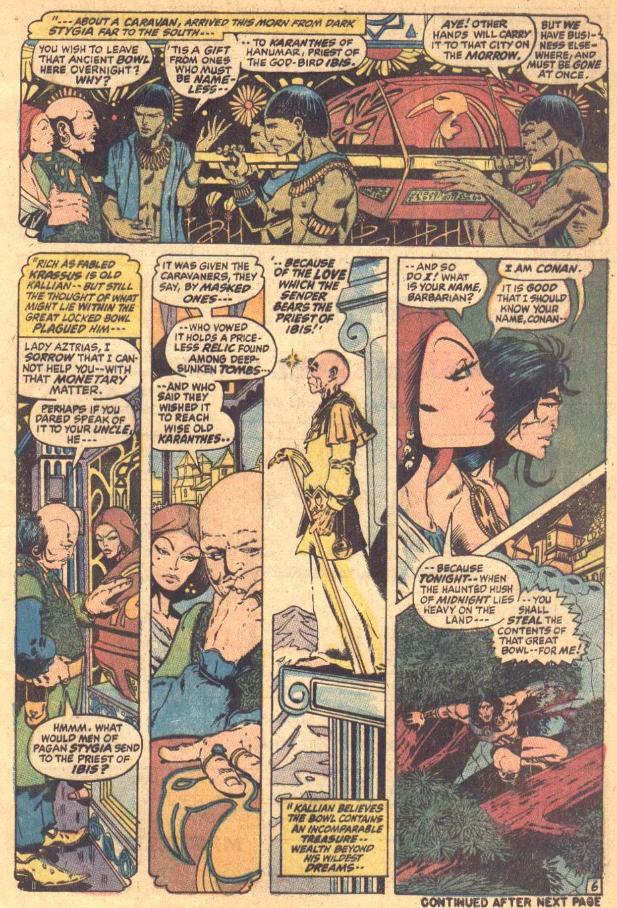 Conan the Barbarian (1970) Issue #7 #19 - English 7