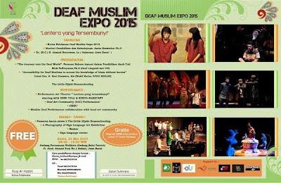 DEAF MUSLIM EXPO 2015