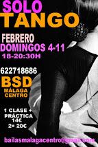 SOLO TANGO EXPRESS, 4 Y 11 FEBRERO EN BSD BAILAS SOCIAL DANCE MÁLAGA CENTRO.