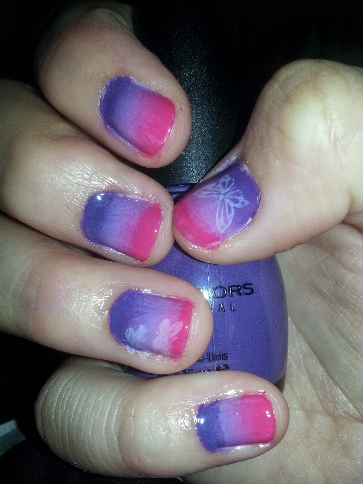 Lili Lost in a Book: Literary Nails: Incarnate by Jodi Meadows