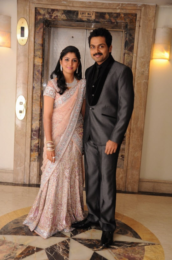 Join Tamil Actor Karthi's Marriage Reception