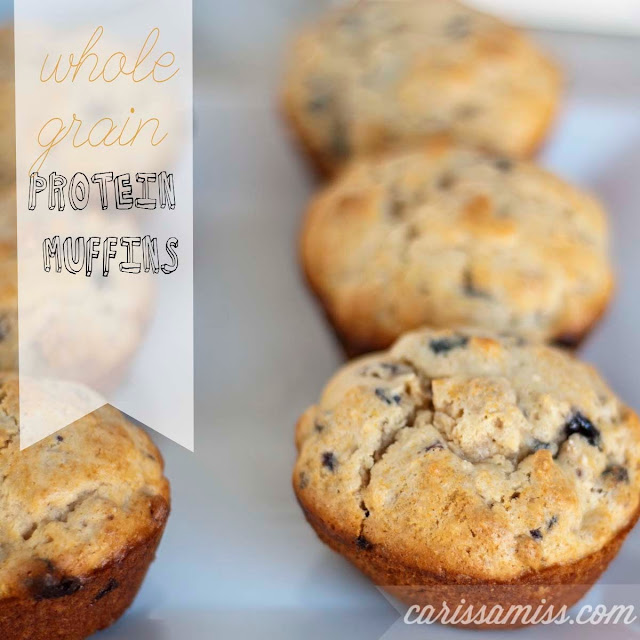 Carissa Miss: Whole Grain Protein Muffins #PostWalgreens #PMedia #ad
