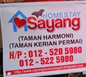 Homestay Sayang