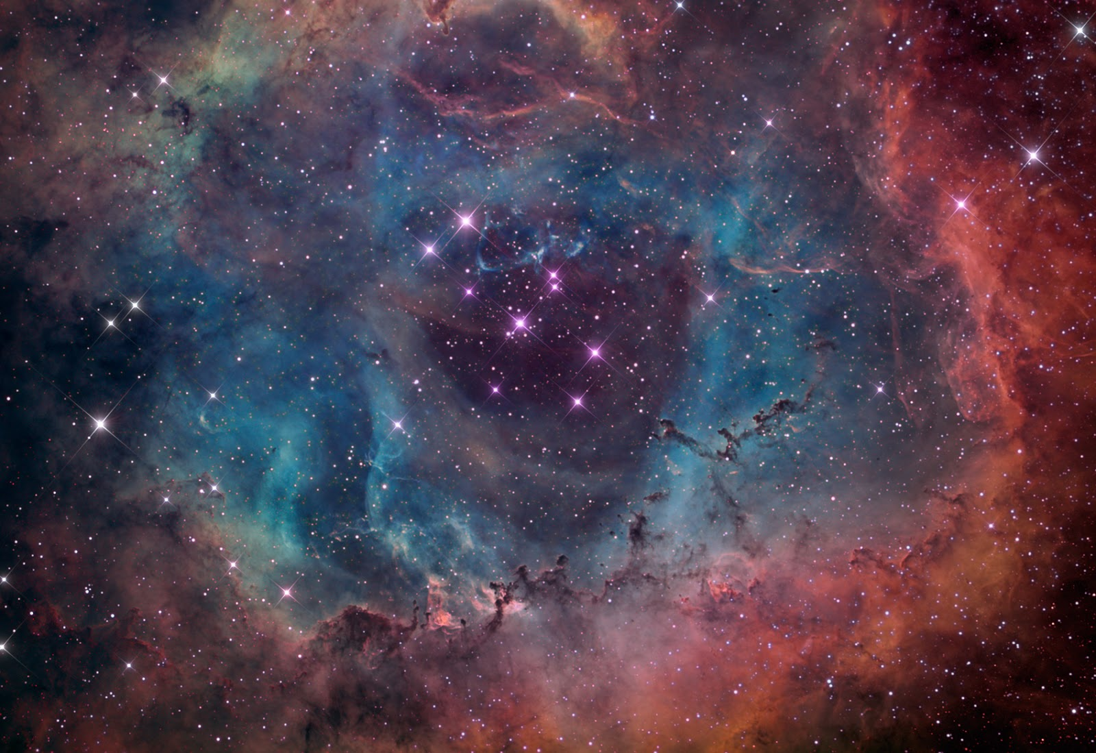 rosette nebula - wallpaper hd | earth blog