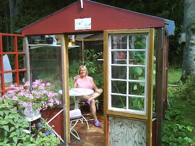 Glasskivor till växthus
