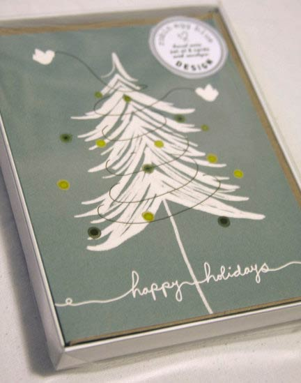 unique christmas card designs - Unusual Boxed Christmas Cards