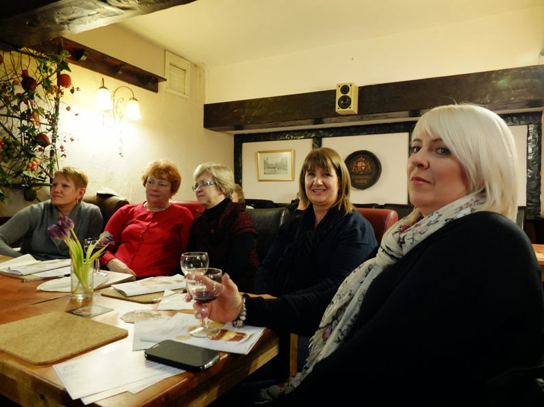 Brigg Pudding Club at the White Horse pub - picture on Nigel Fisher's Brigg Blog
