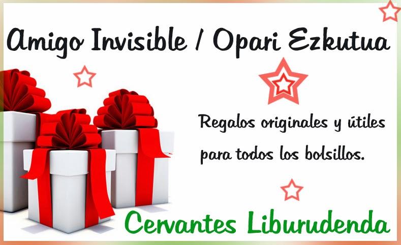 Librer a cervantes liburudenda galdakao 944 561 163 for Regalos originales amigo invisible
