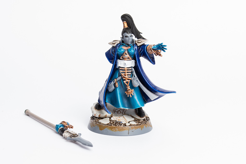 WIP Female Eldar Farseer Of Iybraesil 2