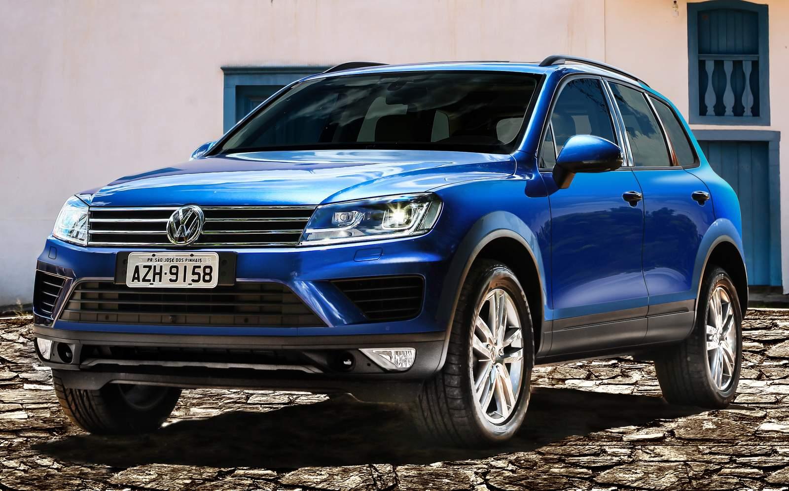 Novo VW Touareg 2015 V6