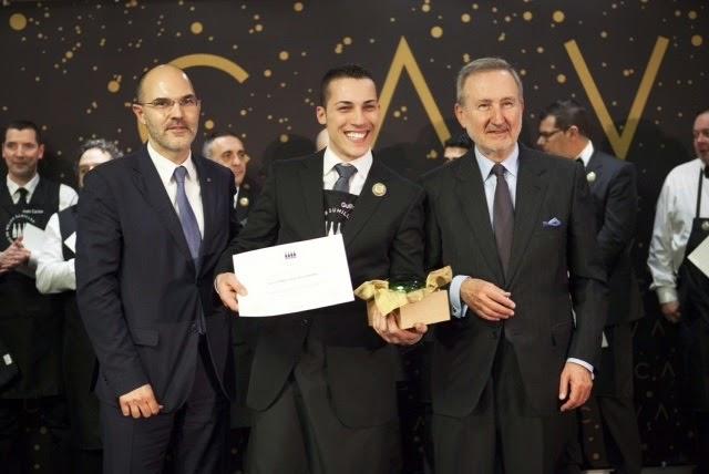 Mejor Sumiller de España en Cava Guillermo Cruz Mugaritz