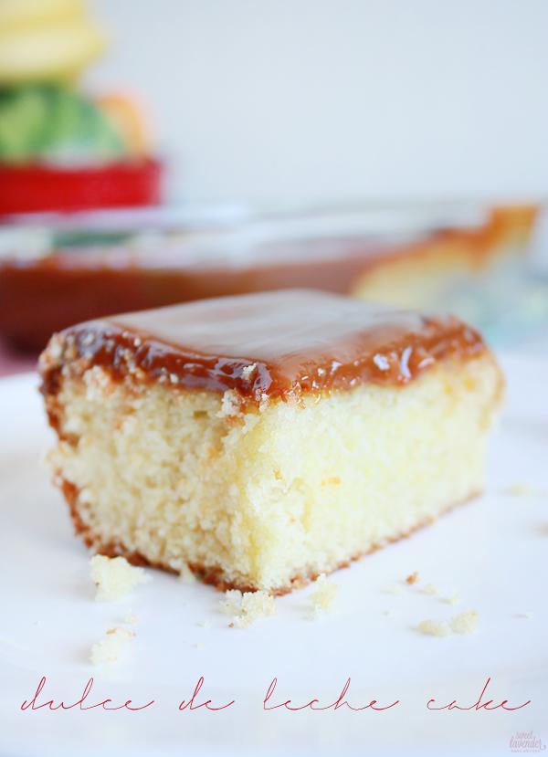 Sweet Lavender Bake Shoppe: dulce de leche cake...