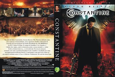 Filme Constantine DVD Capa