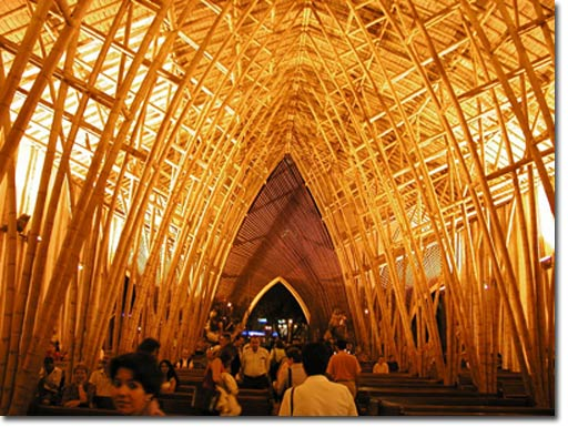 Civil engineering bamboo as building material for Bamboo roofing materials