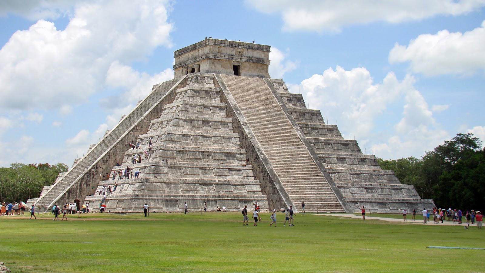 Proyecto chichen itz for Las construcciones de los mayas
