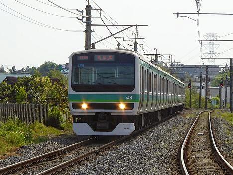 成田線 E231系