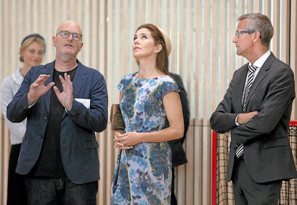 Princess Mary Opened A New Psychiatric Hospital In Slagelse
