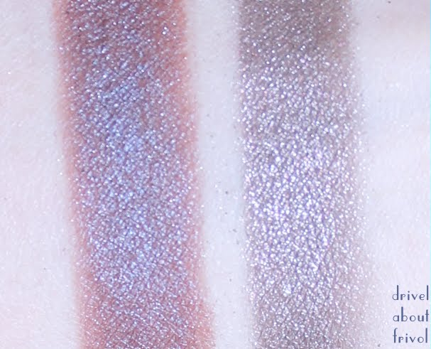 Chanel Illusion D'Ombre Diapason vs Illusoire comparison swatch
