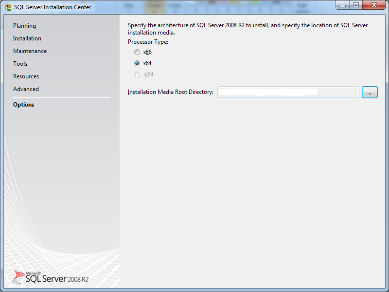 32 bit windows machine