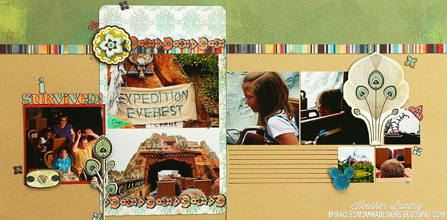 Expedition Everest_Animal Kingdom_Scrapbook Page