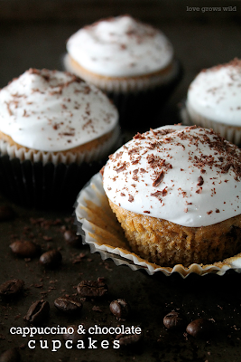 Cappuccino and Chocolate Cupcakes