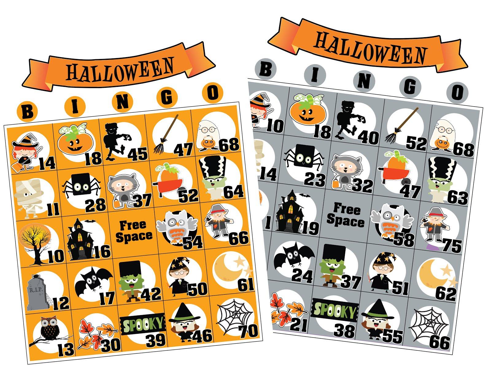 Bingo for Classroom Parties-10,15,20,25 Games